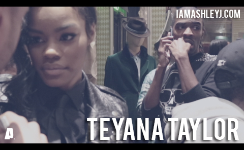 VIDEO STILLS:  TEYANA TAYLOR  IN NEW IAMASHLEYJ.COM EDIT